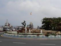 Ceuta port. Good View in ceuta port Royalty Free Stock Photos