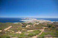 Ceuta stad Royalty-vrije Stock Afbeeldingen