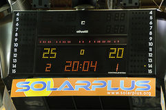 CEV Salve Champions League 2010/2011 - abschließende vier Stockbild