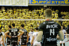 CEV Volley Champions League 2010/2011 Final Four Royalty Free Stock Photography