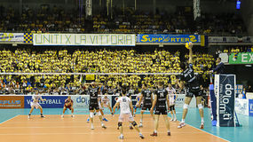 CEV Volley Champions League 2010/2011 Final Four Stock Photos