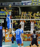 CEV Volley Champions League 2010/2011 Final Four Stock Photo