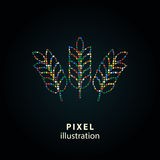 Cevada - ilustração do pixel Foto de Stock Royalty Free