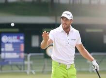 Cevaer cristiano a golf de aperto Francia Immagine Stock