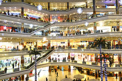Cevahir购物中心 库存照片