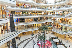 Cevahir Shopping Center, Istanbul, Turkey Royalty Free Stock Photography
