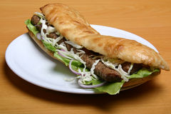 cevap kebab 库存图片