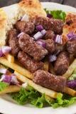 Cevapcici, bosnian minced meat kebab Stock Image