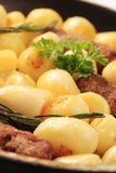 Cevapcici and potatoes Stock Images
