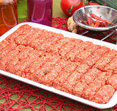 Cevapcici Royalty Free Stock Photography
