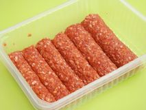 Cevapcici Royalty Free Stock Photos