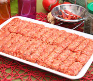 Cevapcici Royalty Free Stock Images