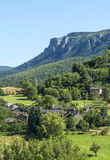 Cevennes: mountain landscape Royalty Free Stock Photos