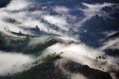 Cevennes mountain range Royalty Free Stock Photos