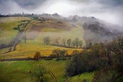 Cevennes mountain range Stock Photography