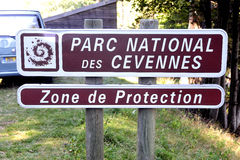 Cevennes National Park Royalty Free Stock Images