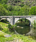 Cevennes: old bridge Stock Image