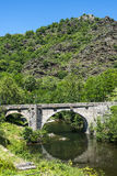 Cevennes: old bridge Stock Images