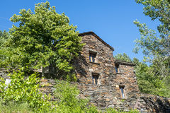Cevennes: old typical house Royalty Free Stock Photo