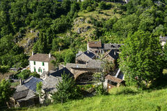 Cevennes: old typical village Stock Images
