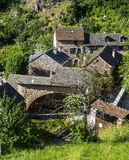 Cevennes: old typical village Stock Photography