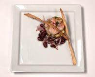 Ceviche των γαρίδων και του αβοκάντο Στοκ φωτογραφίες με δικαίωμα ελεύθερης χρήσης