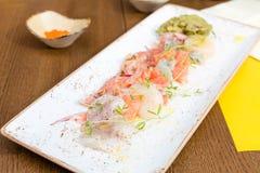 Ceviche морепродуктов Стоковые Изображения RF