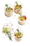 Ceviche av laxen i bildläsningen Arkivfoto