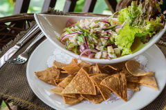 Ceviche Dish Stock Photo