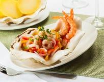 Ceviche do camarão Imagem de Stock Royalty Free