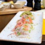 Ceviche do marisco Foto de Stock Royalty Free
