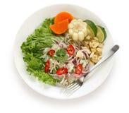 ceviche kuchni naczynia peruvian owoce morza Zdjęcie Stock