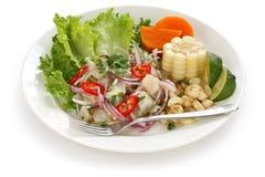 Ceviche, prato do marisco, culinária peruana Imagem de Stock Royalty Free