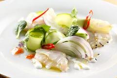 Ceviche sałatka fotografia stock