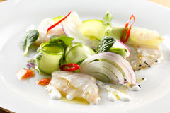 Ceviche salad Stock Photography