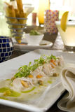 Ceviche tapas 2 Royalty Free Stock Photo