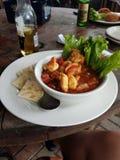 Ceviche w San Leon, Tx zdjęcia royalty free