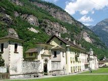 Cevio Valle Maggia Zwitserland Stock Foto's