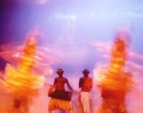 Ceylon dancers 08. Traditional dancers in Ceylon Royalty Free Stock Photo