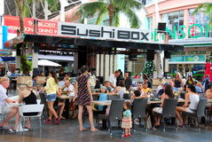 ceylon jungphuket restaurang thailand Arkivbild
