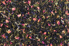 Ceylon mixed tea Royalty Free Stock Photos