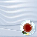 Ceylon tea menu Royalty Free Stock Photos