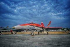 CF-18大黄蜂 图库摄影