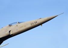 CF-5 aposentado no meio de um carrossel fotos de stock royalty free