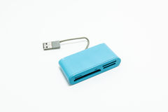 CF Card,SD Card and Card Reader Stock Images