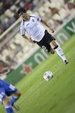 CF de Valence contre Chelsea Photographie stock libre de droits