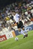 CF de Valence contre Chelsea Photographie stock