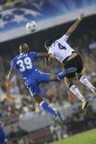 CF de Valence contre Chelsea Image libre de droits