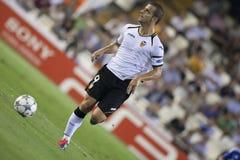 CF de Valencia contra Chelsea Foto de archivo