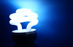 CFL Bulb Stock Photography